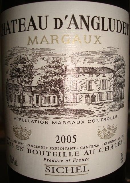 Chateau D'Angludet 2005