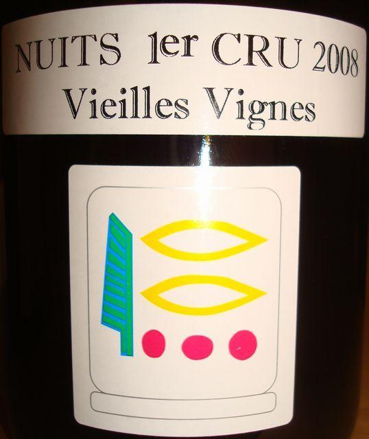 Nuits 1er Cru Vieilles Vignes Priure Roch 2008