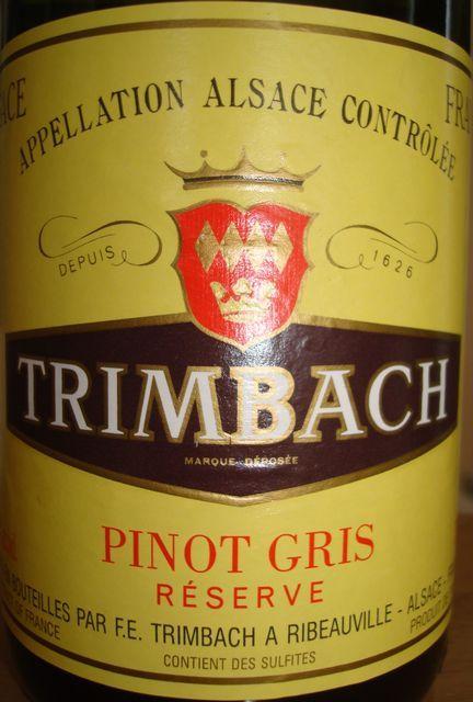 Trimbach Pinot Gris Alsace 2004