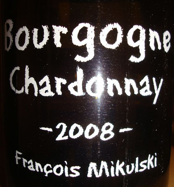 Bourgogne Chardonnay 2008 Francois Mikulski