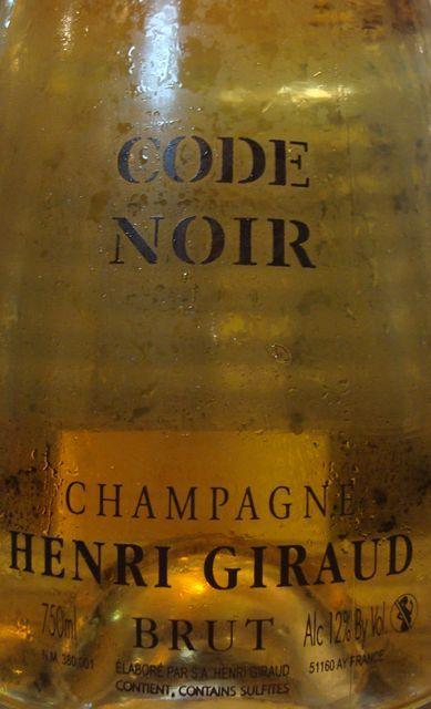 Code Noir Brut Henri Giraud