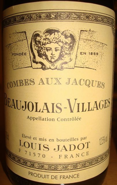 Beaujolais Villages Louis Jadot