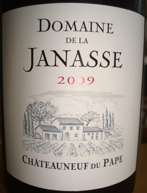 Chateauneuf Du Pape Domaine De La Janasse 2009