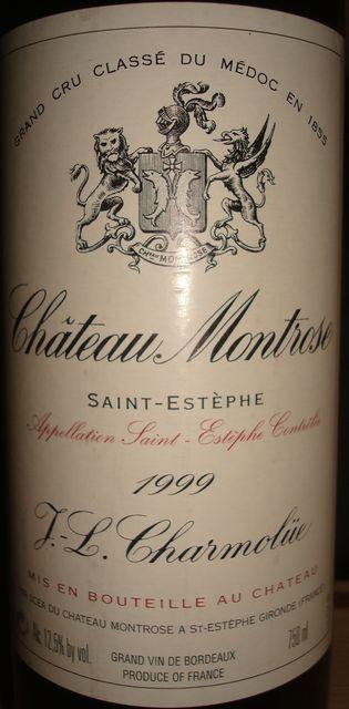 Chateau Montrose 1999