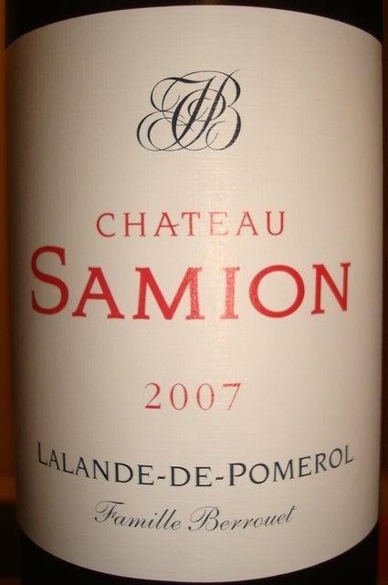 Chateau Samion 2007