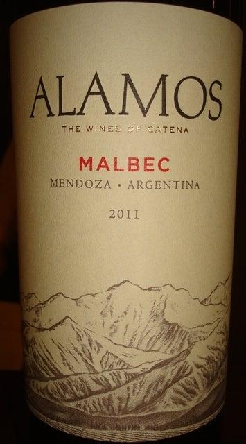 Alamos Malbec Mendoza Argentina 2011