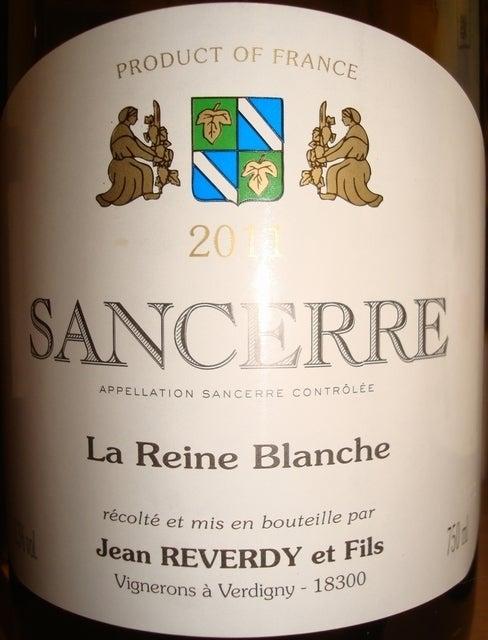 Sancerre La Reine Blanche Jean Reverdy 2011