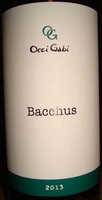 Bacchus OcciGabi 2013