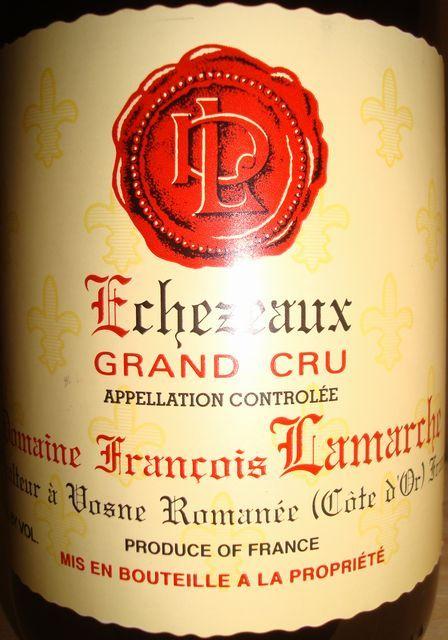 Echezeaux 1999 Francois Lamarche