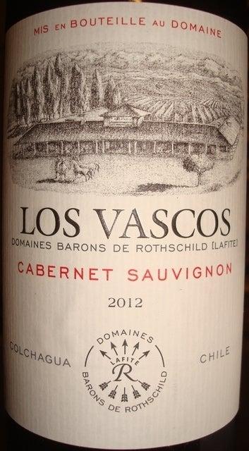 Los Vascos Cabernet Sauvignon 2012