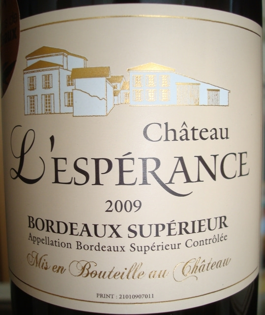 Chateau L'Esperance 2009