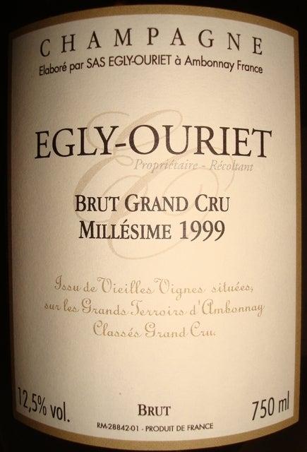 Egly Ouriet Brut Grand Cru Millesime 1999