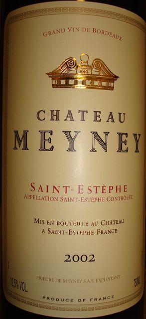 Ch Meyney 2002