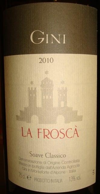 Soave Classico La Frosca Gini 2010