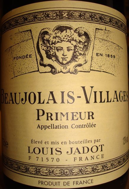 Beaujolais Villages Primeur Louis Jadot 2009