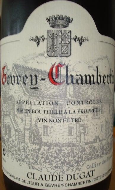Gevrey Chambertin Claude Dugat 1999