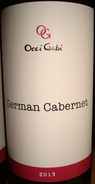German Cabernet OcciGabi 2013