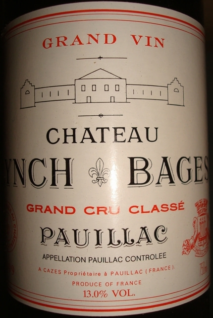 Chateau Lynch Bages 1999