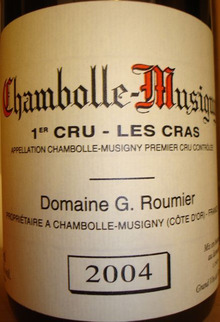 Chambolle Musigny 1er Cru Les Cras Georges Roumi