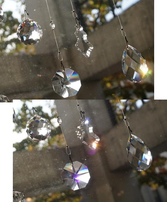 ボヘミアガラスのインテリアルース
