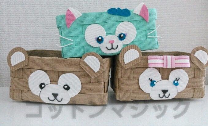 ハート 折り紙 折り紙 ダッフィー : ameblo.jp
