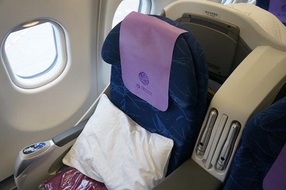 インドラダック旅行記 中国東方航空 MU522便ビジネスクラス ...