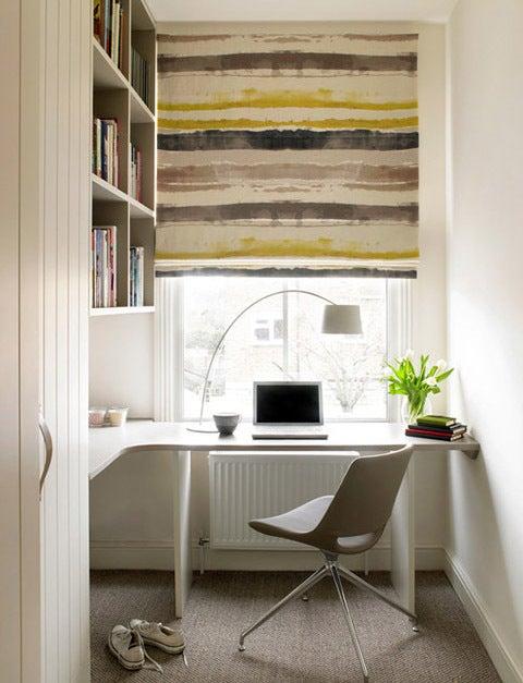 部屋 コーディネート♪-ロンドンのシンプルでお洒落な書斎