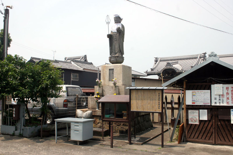 竹ヶ鼻城/①お城地蔵
