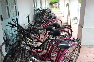 自転車の 自転車 台北 レンタル : ... 安平でレンタル自転車を借りる