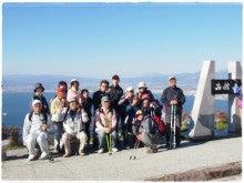 函館山山頂での集合写真