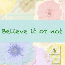 BelieveItOrNot