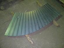 厚板の径違い偏心ダクトの製作