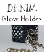 DENIM Glove Holder