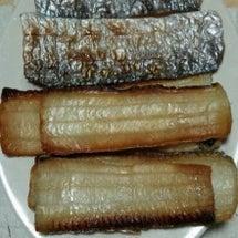 タチウオの干物と再考…