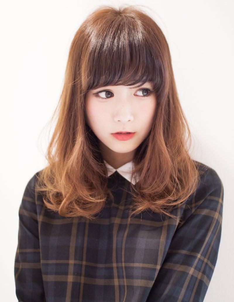 【髪型】毛先に自然な動きを出してふわっとボリュームスタイルに|前髪・命!銀座美容室AFLOAT JAPAN (アフロート ジャパン)矢ケ崎 健 の美容ブログ!