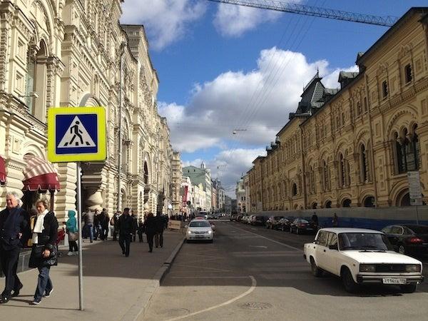 モスクワ町並み