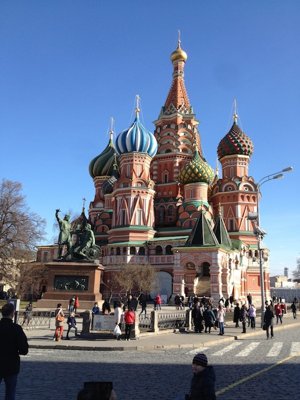 Red SquareのSaint Basil's Cathedral