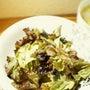 サラダ菜と海苔の和風…