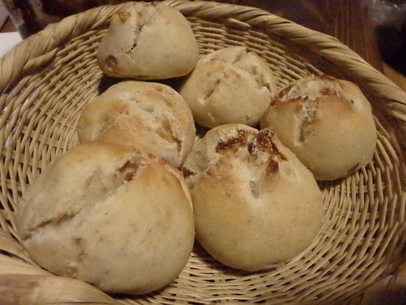 天然酵母パン焼成