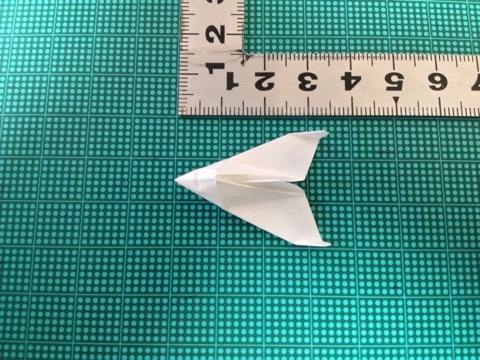 ハート 折り紙:紙飛行機スペースシャトル折り方-ameblo.jp