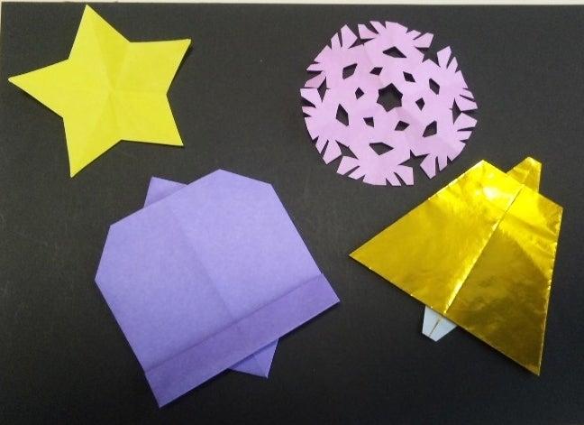 ハート 折り紙:折り紙 ベルの折り方-ameblo.jp