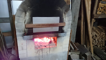 ピザを焼く石窯用のスチール製の蓋…広島県