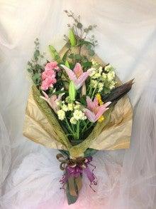 贈呈式花束