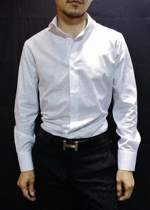 カモフラホリゾンタルカラーシャツ