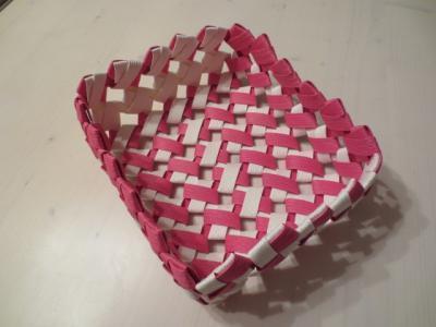 石畳み編み