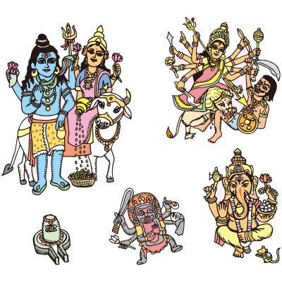 ヒンドゥーの神様1