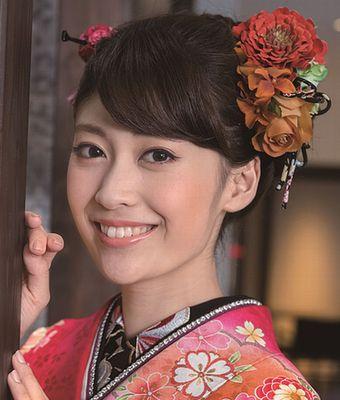 髪のアクセサリーが素敵な榊原美紅さん