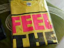 PSツアーTシャツ