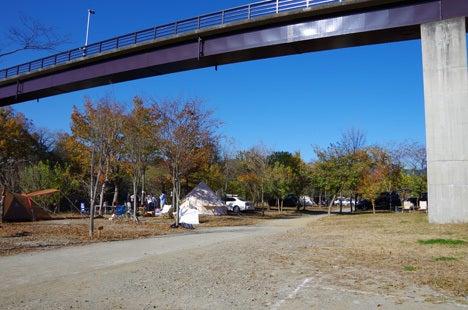 長瀞オートキャンプ場、テントサイトの詳細9