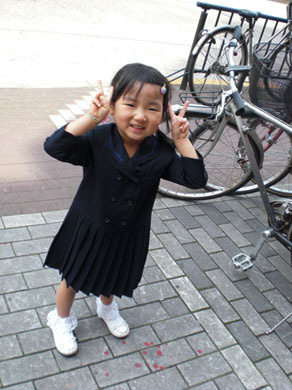 子供の写真 年賀状